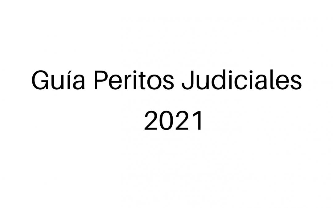 Guía de Peritos Judiciales de la AJNP para 2021