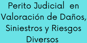 Curso de Perito Judicial en Daños, Siniestros y Riesgos Diversos (400h)